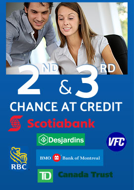 Up to 3 chance at credit