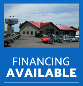 Financing available at Nadeau Automobiles